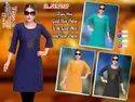 Party Wear Anarkali Branded Surplus Kurtis, Wash Care: Machine Wash