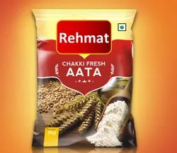 Rehmat Indian Whole Wheat Flour, Packaging Type: HDEP Bag, 12 Months