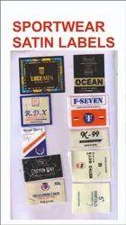 Sportswear Satin Label