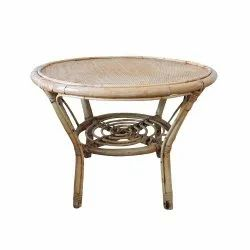 Cane Round Table, 22 Inches (diameter)
