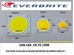 COB EB1307  3v-4v 300mA Green 1W