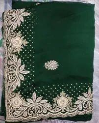Beautiful designer hand work Saree Price 3400/piece