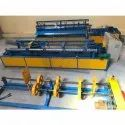 Fully Automatic Metal Chain Link Fencing Making Machine
