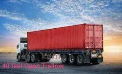 40 Feet Open Trailer Transport Services