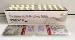 Olanzapine Mouth Dissolving Tablets 10mg