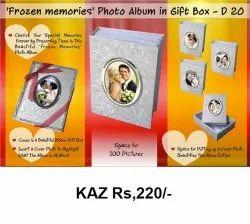 Frozen Memories Photo Album In Gift Box