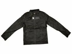 Full Sleeve Black Mens Leather Jacket, Size: S-XXL