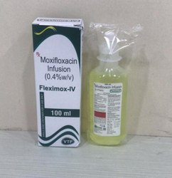Moxifloxacin 400 Mg + Mannitol Per 100 Ml