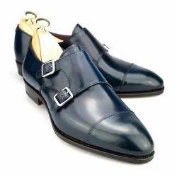 Men Formal Shiny Black Shoes, Size: Medium