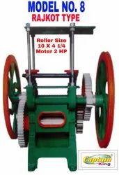 Sugarcane Crusher Machine Rajkot Type Model No. 8
