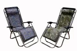 Mild Steel Folding Relax Chair, For Outdoor