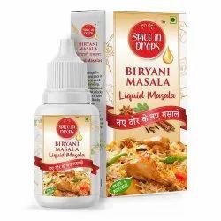 Spice in Drops Biryani Masala, Packaging Size: 25 ML, Packaging Type: Box