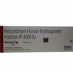 Recombinant Human Erythropoietin Injection IP 4000 IU