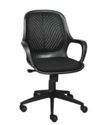 Executive Medium Back Chair - Queen Black