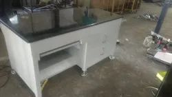 SSI Polished MS Work Table, For Garage