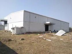 Concrete Industrial Shed Construction Service, in Local