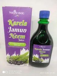 Kerala Jamun and neem juice