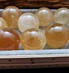 Golden Honey Calcite Sphere, For Increases confidence