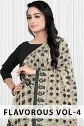 Flavorous Vol-4 Knitting With Additional Work Dupatta Catalog Collection