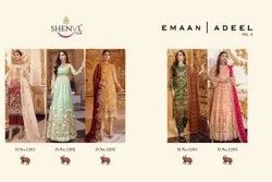 Shenyl Fab Embroidered Dress Material