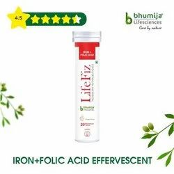 Iron Folic Acid Effervescent Tablet 20''S