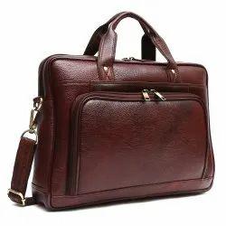 Brown Genuine Leather Messenger Bags, Capacity: 20 Kg