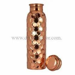 Diamond Copper Bottle Glass Set