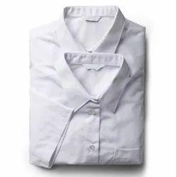 Summer Cotton Kids School White Shirts, Size: 22