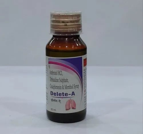 Delete-A Cough Syrup, 60ml