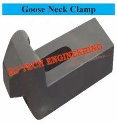 Black Carbon Steel Gooseneck Clamp, For Industrial, Size: Metric