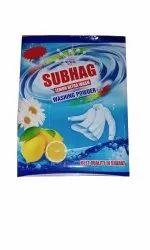 Lemon White 1kg Subhag Detergent Powder, For Laundry