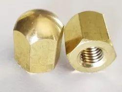 Brass T Bolt Nut, For Industrial, Hexagonal