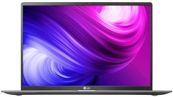 LG Gram 10th Gen i7 Thin and Light Laptop (8GB/512GB SSD/Win 10/Dark Silver/1.35kg), 17Z90N