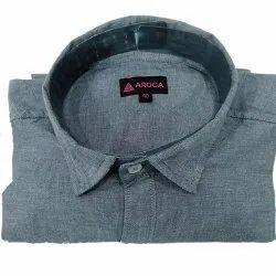 Plain Aroca Cotton Shirt