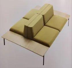 Office Designer Sofa - Citrine