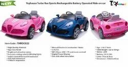 Plastic Kids 6V Battery Operated Toyhouse Rux Sports Car