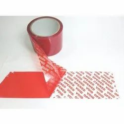 Void Adhesive or Tamper Proof Tape
