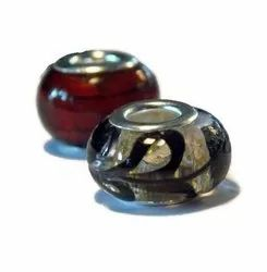 Painted Glass Bead