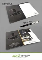 4 Days Paper Corporate Notepad Printing Services, in Pan India