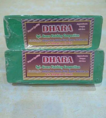 Dhara metal polishing compound