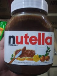 Nutella Ferrero Chocolate Spreads
