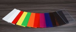 Colored Extruded Acrylic Sheets