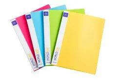 Clear Book 20 Pockets A4 Size (CB501)