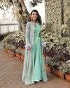 Present New Designing  Georgette With Embroidery Work Fancy Saree