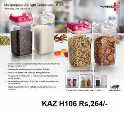 Multipurpose Airtight Containers