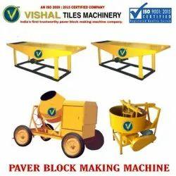 Concrete Paver Tile Making Machine