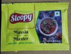 Sloopy Masala Master Spices Powder, Packaging Type: Packet, Packaging Size: 7 gm