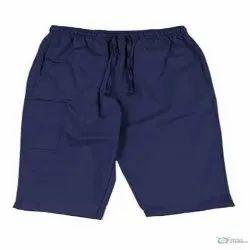 Blue Plain 3/4 Scrub Pants
