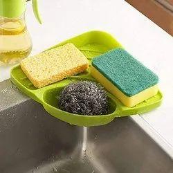 Mechdel Multipurpose Corner Kitchen Sink Wash Basin Storage Organizer Rack(Made in India)