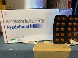 Prednisolone Tablets IP 5 Mg